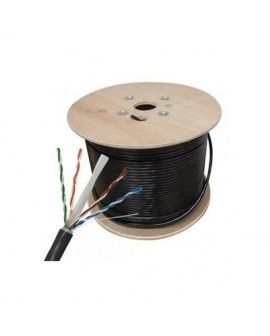 Cable UTP CAT 6 Blindado para Intemperie