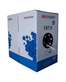 Cable UTP CAT 6 HIKVISION 100% Cobre Certificado