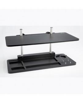 Mesa eleva facil multiples alturas color negro