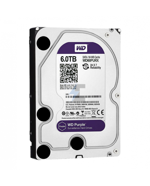 Disco duro Interno WD Purple™ 6 TB